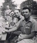 Gilbert de Boisseson, 1940 (2ème à droite)